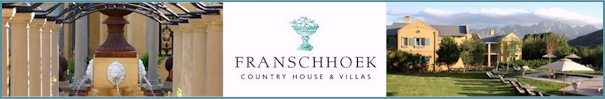 franschoek country houses & villa's